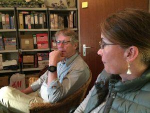 Sven und Marion bei der Facebook-Schulung