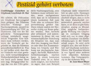 Leserbrief Sven MM_2016.05.23_Zu_Glyphosat_und_TTIP