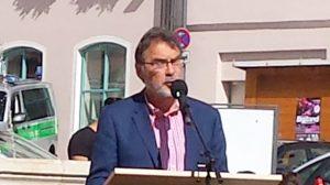Dr. Herbert Kränzlein bei seiner Ansprache am 17.06.2016 in Landsberg